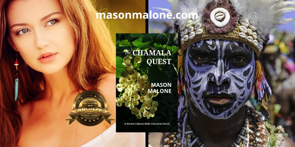 Libby will have to get past a primitive tribe of cannibals if she is to succeed, and they plan to take the Chamala's location and its secret with them to their graves,...   by @masonmalonecom  get it now   #RT  #iartg  #asmsg  #bookboost