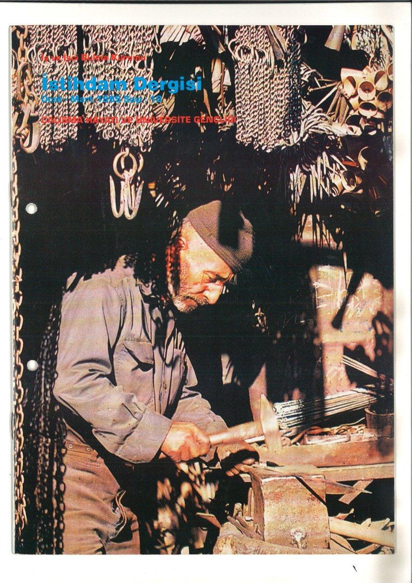 """1995 yılında çıkardığımız """"İstihdam Dergisi""""nin Ocak-Mart sayısı... #tbt  #Perşembe"""