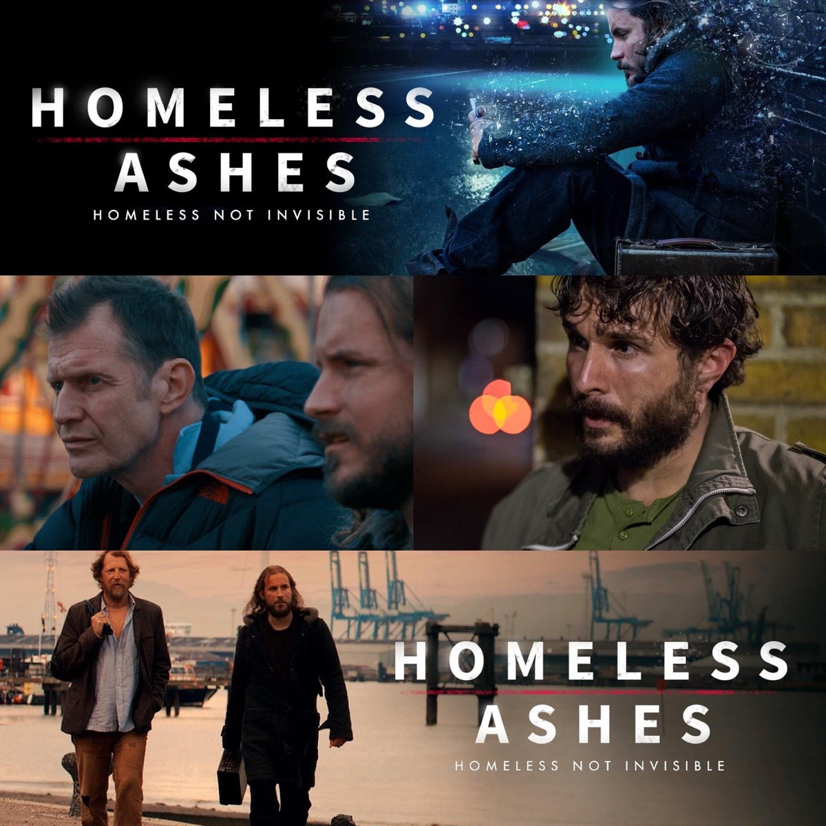 Here's a look at my character AL a war veteran in @homelessashes available worldwide on @PrimeVideo, the movie holds a powerful message. We premiered the movie @Raindance Film Festival in 2019  @Variety @primevideouk @StephenKing @HelenLOHara @NickdeSemlyen - hope you're all well