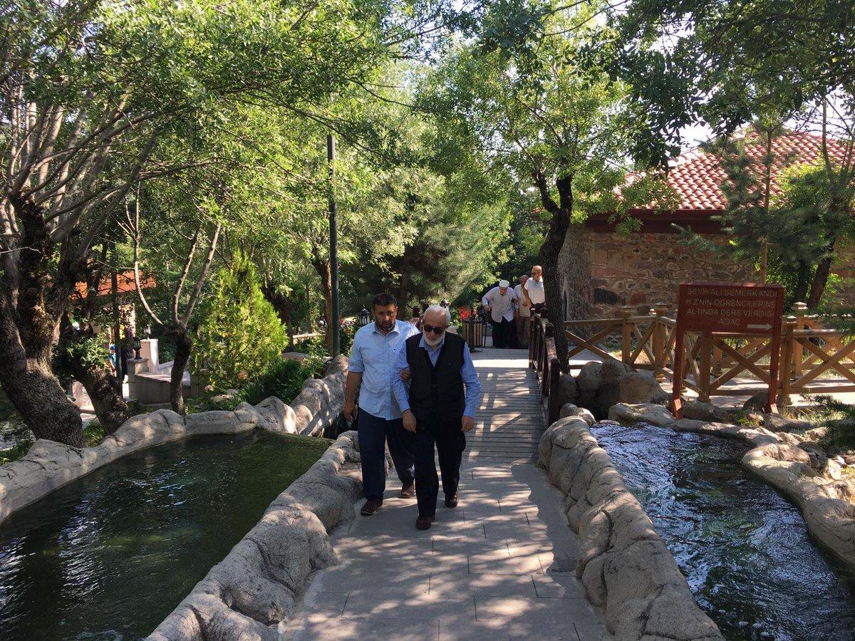 Ali Semerkandi hazretlerini ziyaret... Ankara, Çamlıdere,  #recepkatırcı #Tbt #Persembe #Allahdostları #Rabbim #hafızaveda #Ankara