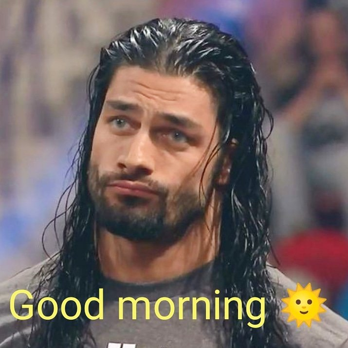 Good morning #RomanEmpire 😀 happy #TBT 😊 #RomanReigns #TheBigDog #TheGuy