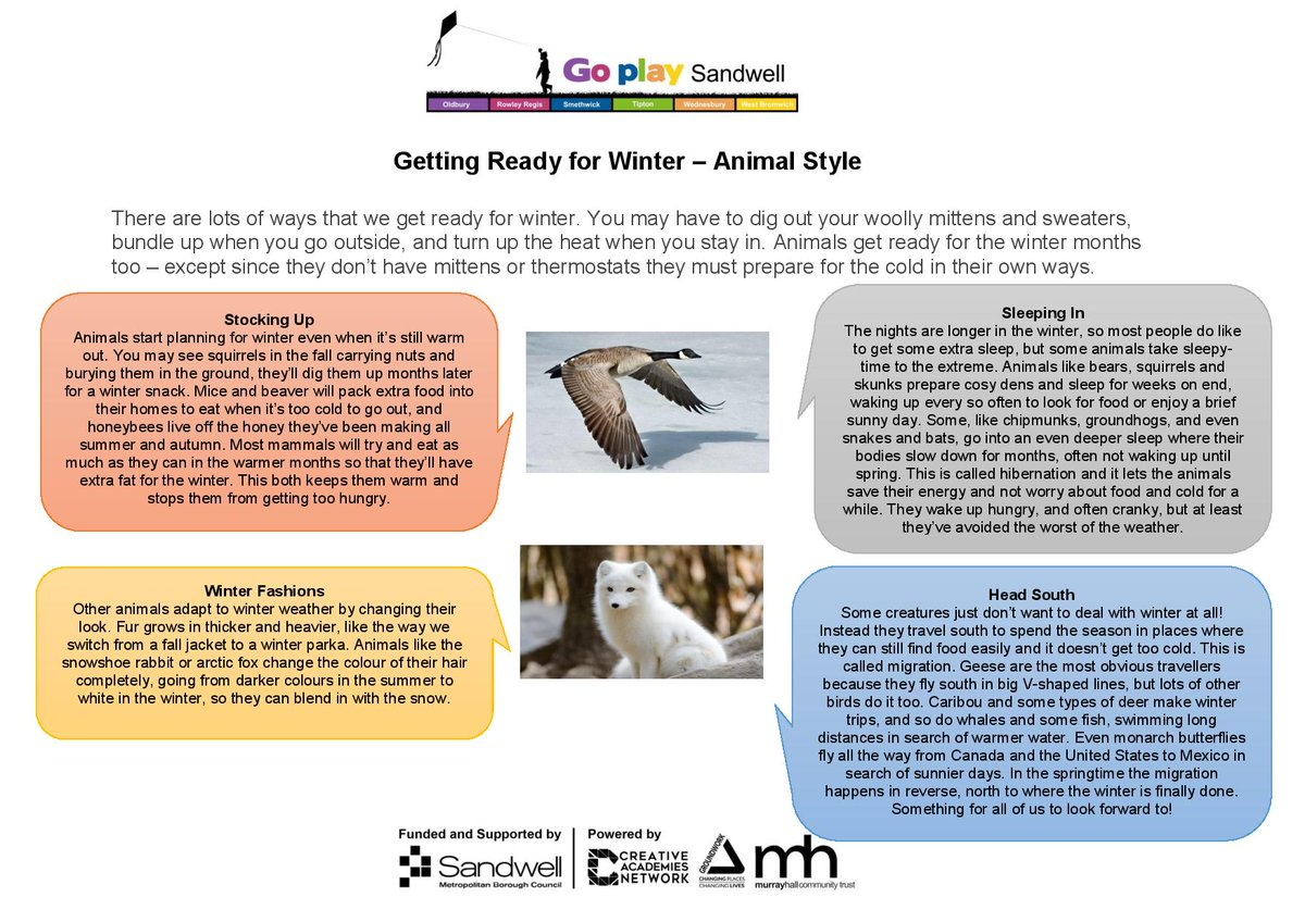 Let's find out how animals get ready for winter.  Have a go at our Penguin hand-print craft.   For more play and activities check out our website!   #goplaysandwell  #activitiesforkids  #playathome