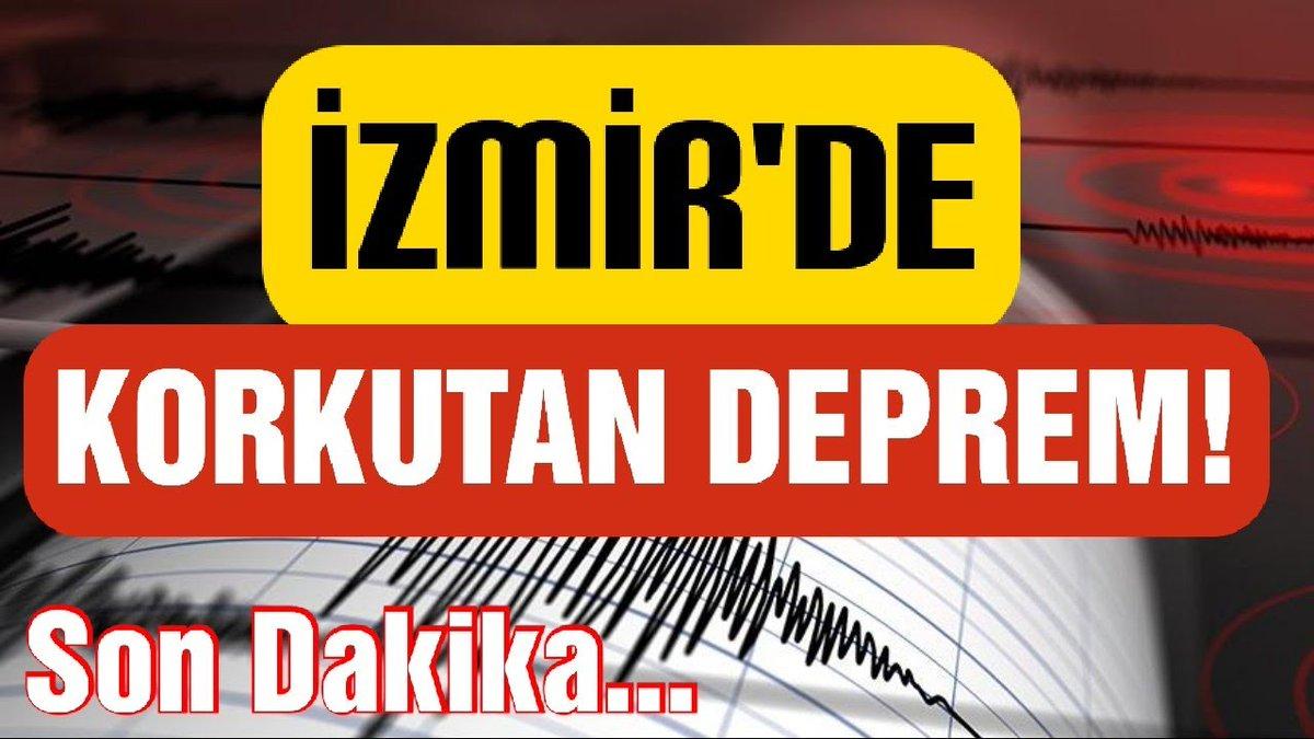 İzmir'de Korkutan Deprem ! | İzmir'de Son Dakika Depremi../AFAD Açıklama... Detaylar İçin 👇 https://t.co/1JVS6S2S1s @YouTube aracılığıyla  #deprem #depremİzmir #izmirdeprem #izmirdepremi  #SonDakika #haber #Guendem #izmir #Persembe #worldtrtv #youtubehaber https://t.co/iyQCi6H1aL