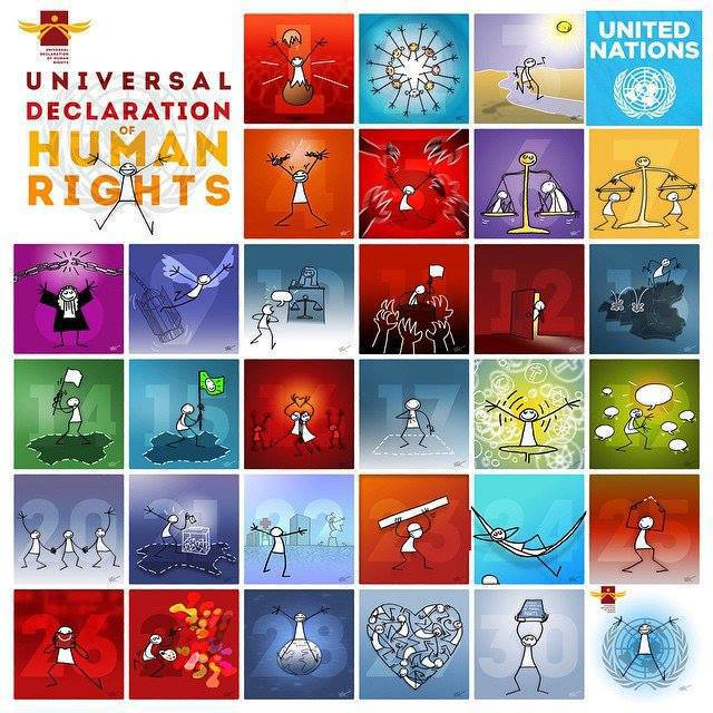 The Universal Declaration of Human Rights has helped improve the lives of millions of people and lay the foundations for a more just world.  #StandUp4HumanRights on #HumanRightsDay & every day.