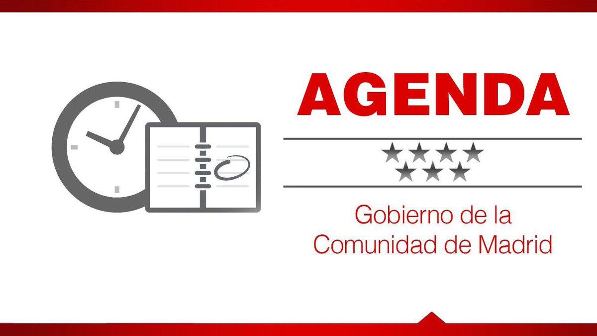📅 ¡Buenos días! Esta es la agenda de Gobierno para hoy. #FelizJueves