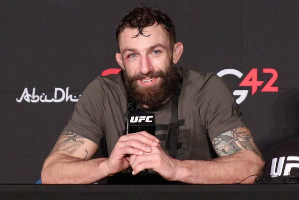 Michael Chiesa called out Colby Covington at UFC on ESPN 20 because he's 'toughest matchup'   #UFCvegas14 #UFC255 #UFCFightnight #MMA #UFC https://t.co/YJ01zQc8MG