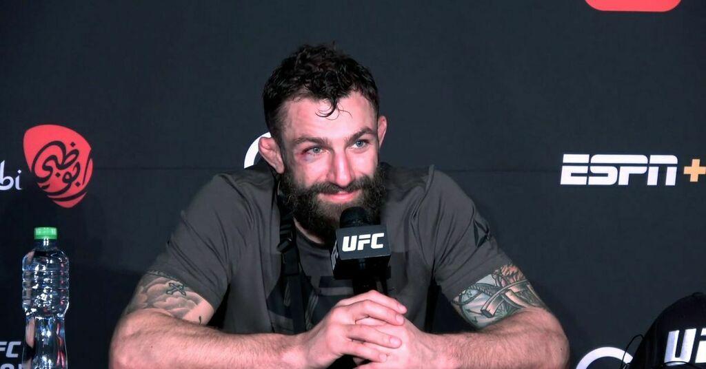 Michael Chiesa explains second Colby Covington callout: 'Because he's the toughest matchup for me'   #UFCvegas14 #UFC255 #UFCFightnight #MMA #UFC https://t.co/tJ2anEagC9