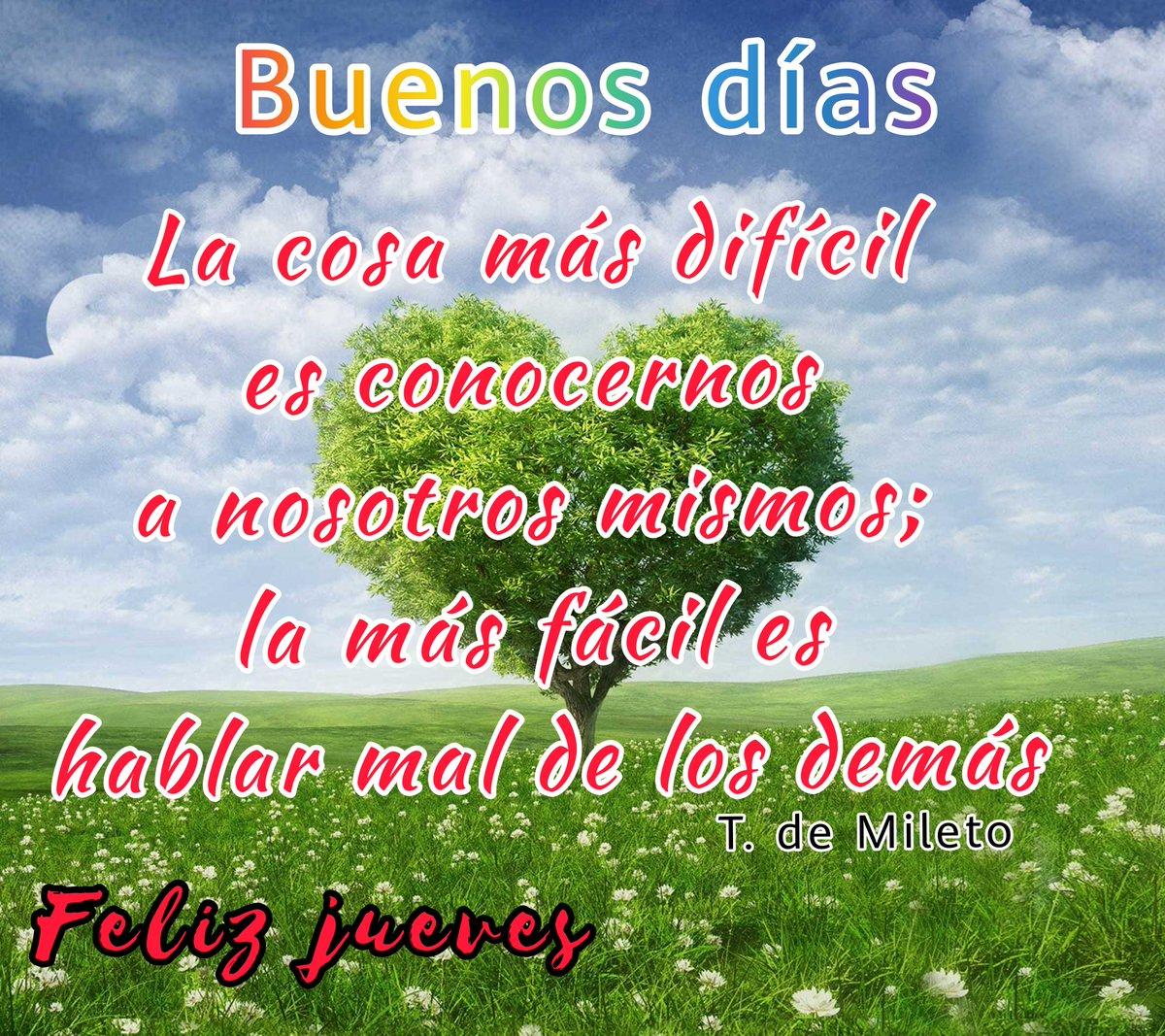 @luismerlo_actor Buenos días y que frase tan certera y hermosa. #FelizJueves