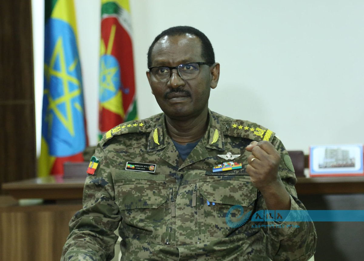 "#Ethiopia: #Sudan must distance itself from a trap set by a ""third-party"" and get ready to resolve the issue through negotiation, says Chief of staff of the national defense forces General Birhanu Jula."