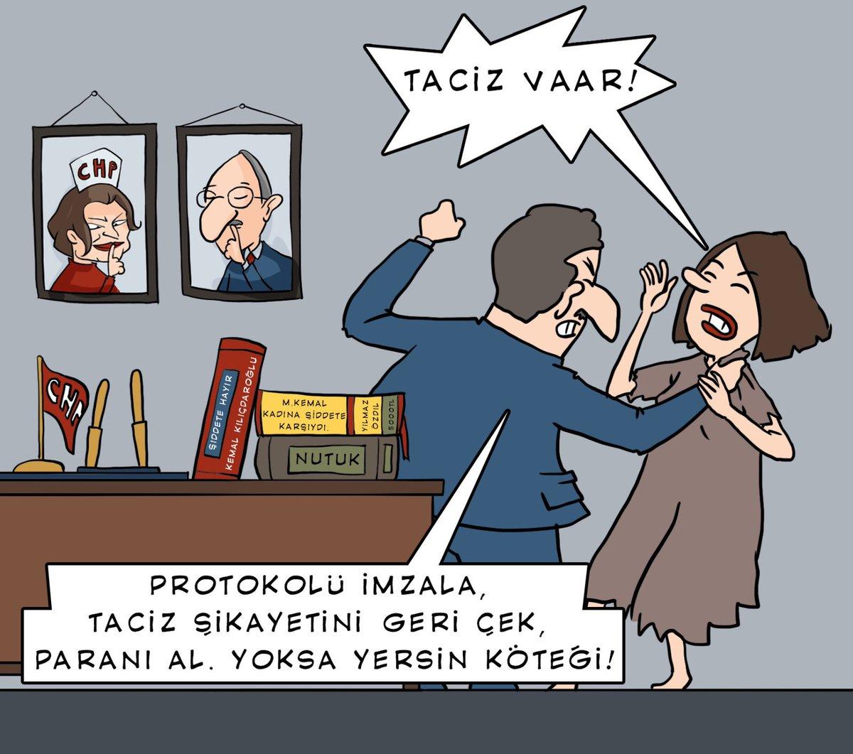 CHPnin hem taciz hem de tacizleri örtbas etme çabalarına #SessizKalmayın