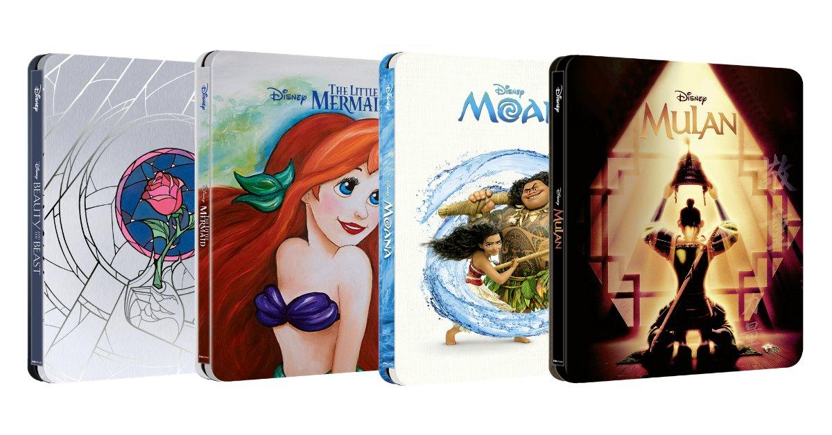 Disney 4K steelbooks coming soon to Zavvi... 👀✨🏰