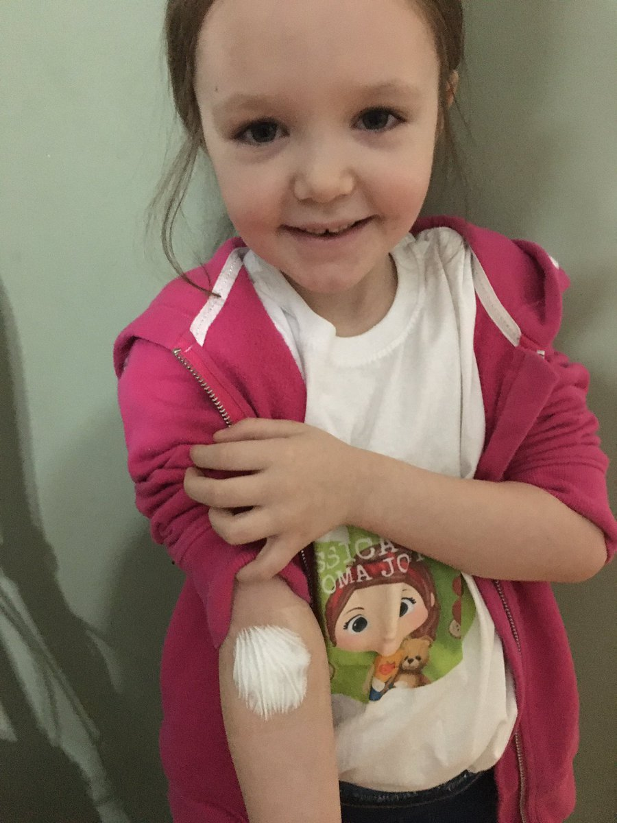 Replying to @JourneyStoma: Off to get her bloods done and X-ray @AlderHey xxx