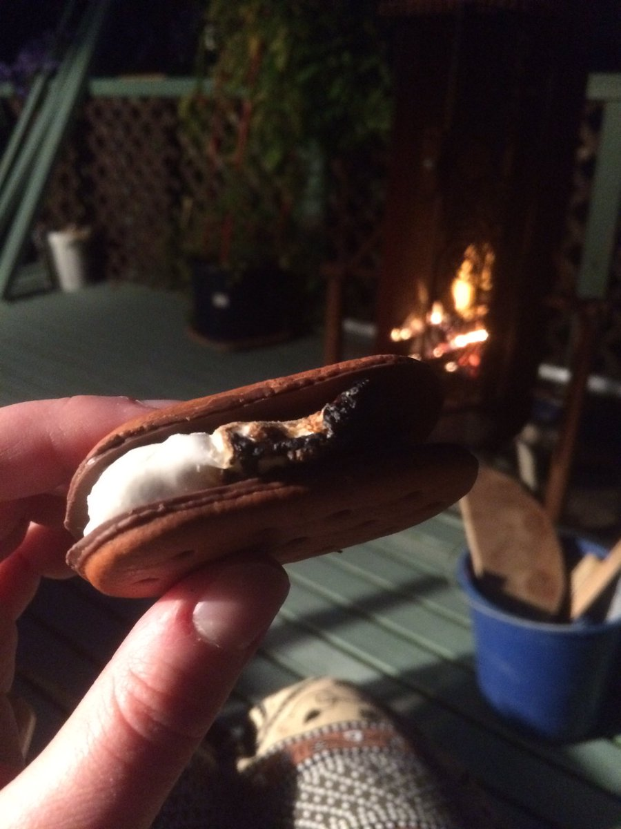 It's s'mores time 🎉 #smores #summernz