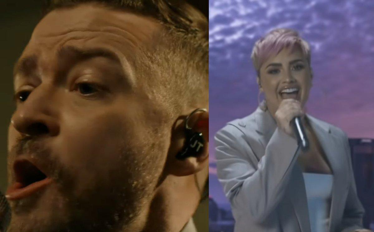 #CelebratingAmerica: Demi Lovato, Justin Timberlake e altri cantano per Joe Biden - i video
