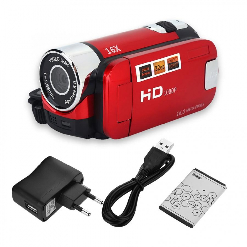 #igers #tagsforlikes Camara profesional 720P Volle HD 16MP DV Camcorder Digital Video Kamera 270 grad Drehung Bildschirm 16X Nacht Schießen Zoom digital
