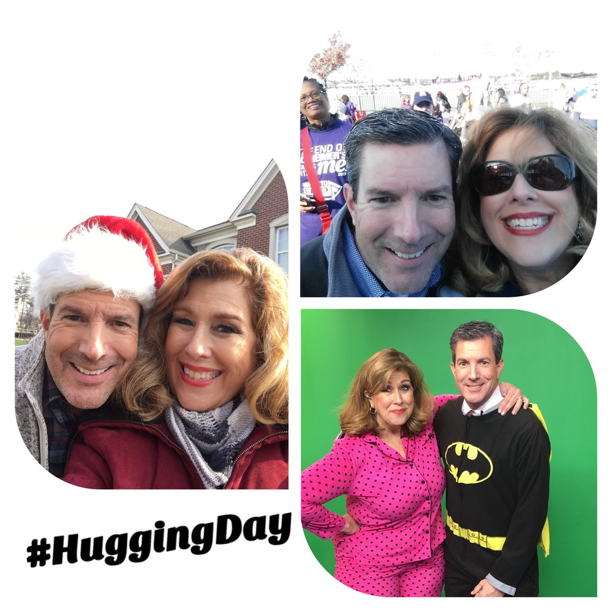Documenting my Days. For number one hundred eighty-four, a #TBT in honor of #NationalHuggingDay.  I sure miss hugs, don't you? @bobkellyfox29 @fox29philly