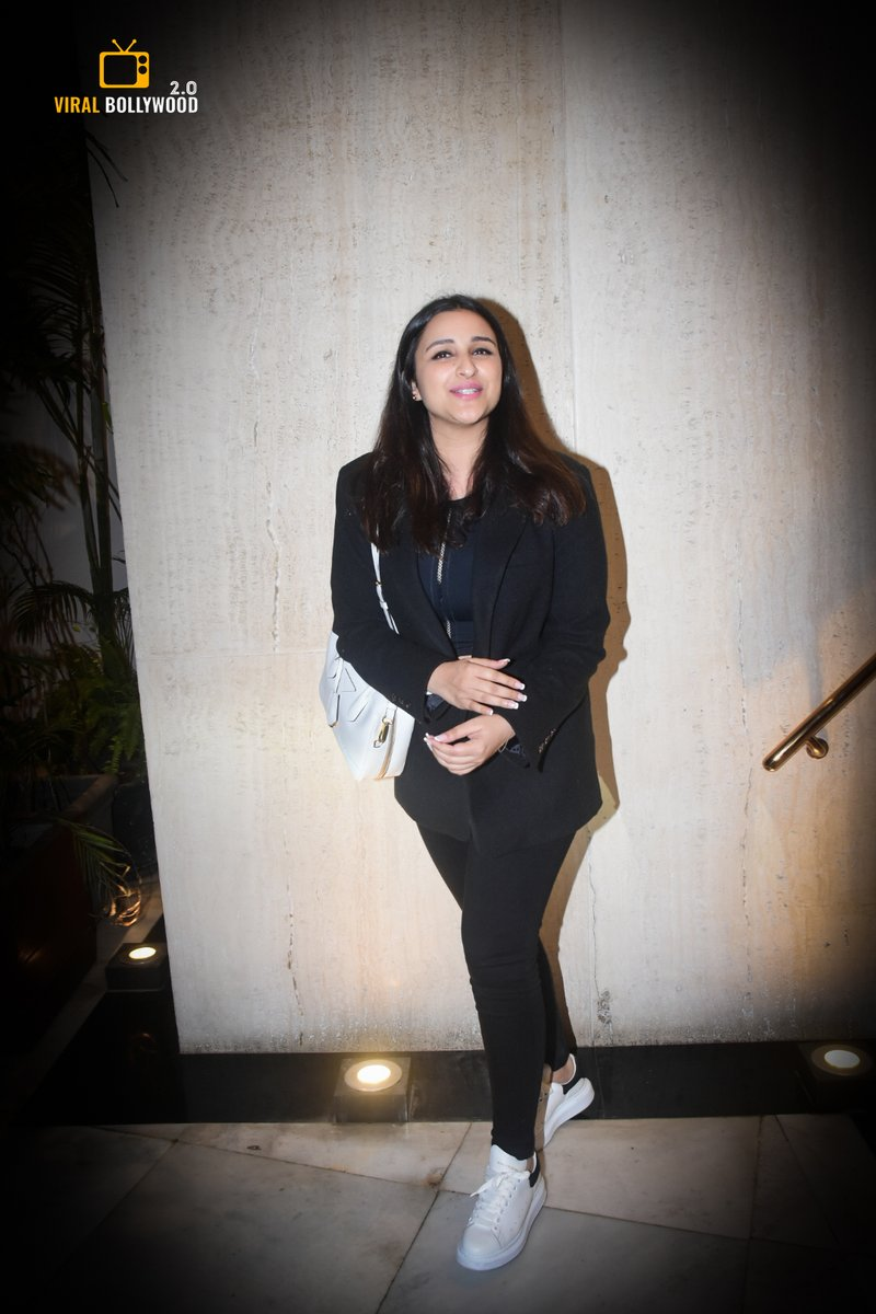 @ParineetiChopra Spotted At Manish Malhotra's House In Bandra.   #ParineetiChopra • #TheGirlOnTheTrain  • #TGOTT