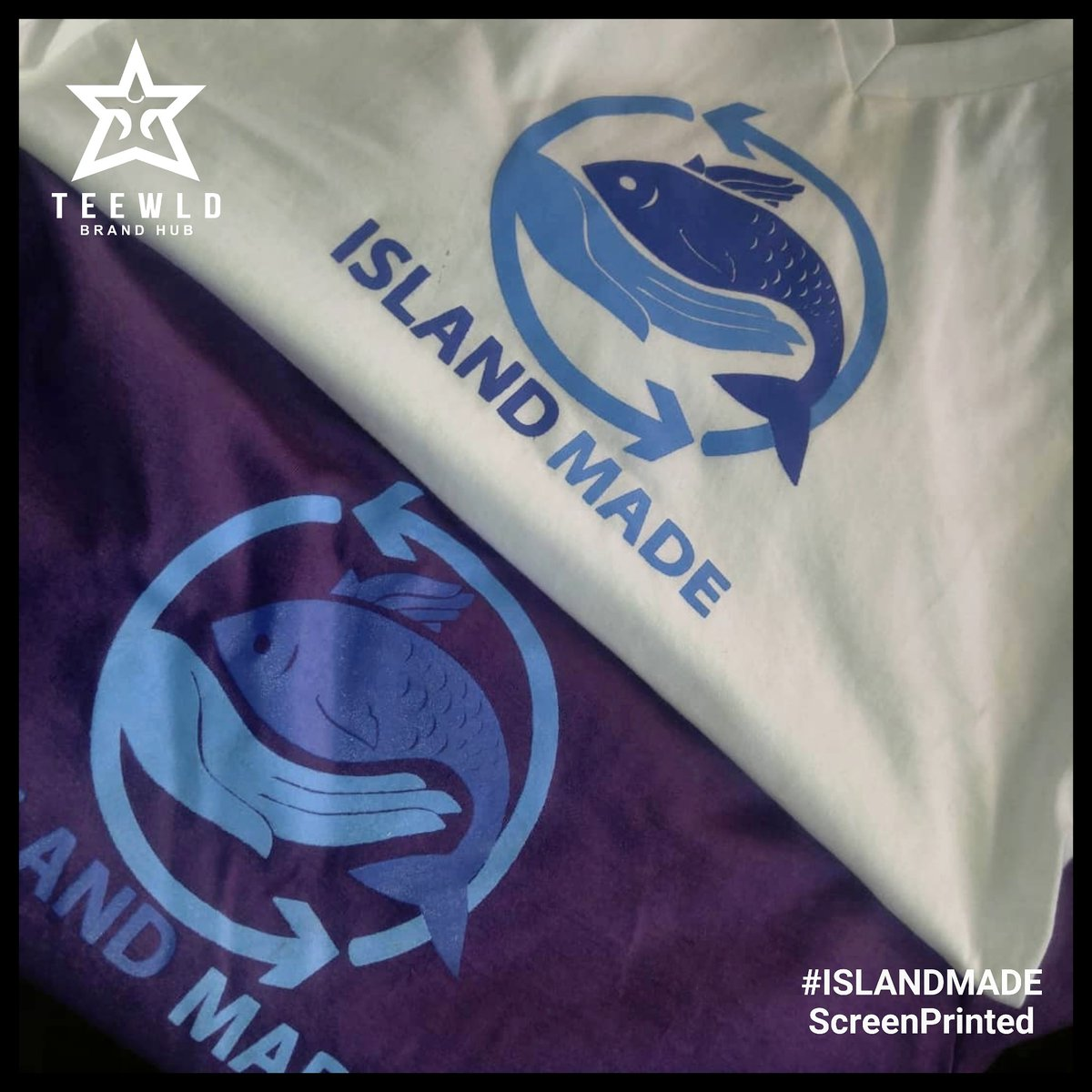 We made it 😎 #ISLANDMADE 🌴  Call: +256759049848 for orders  #islandtees #islandmade #islandvibes #islandparadise #islandlove #cooltees #tshirtprinting #grabyourtshirttoday #screenprinting