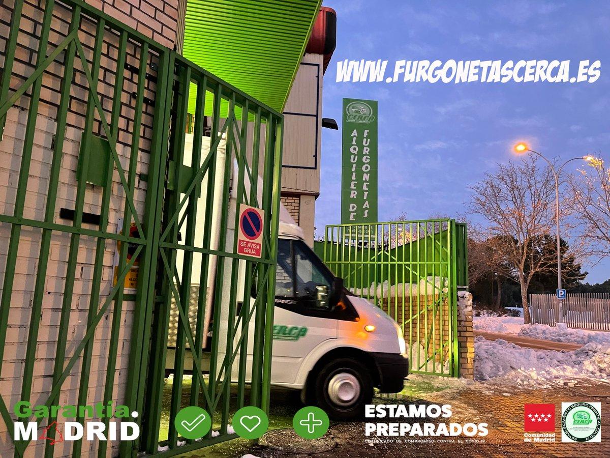 Aprovecha hoy Jueves y reserva o alquila tu furgoneta |   a través de @CercaAlquilerDe #FelizJueves #Cerca #Alcorcón #GarantíaMadrid