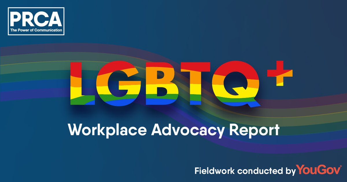 """""""It's clear from these results many LGBTQ+ people in our industry are experiencing it [discrimination] - and that can't be overlooked"""" - @KTraxton  Our LGBTQ+ Workplace Advocacy Report is now out. Read more:"""