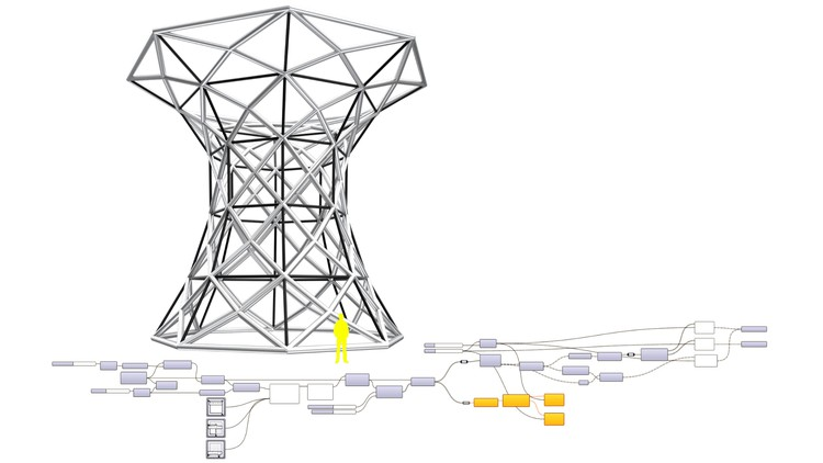 Subdivided Vertical Flared Tower in Grasshopper for Rhino   38 mins   🆓 LINK =>    #Udemy #FreeCourse  #3D #Modeling #Architectural #Design #Grasshopper #3d #Rhino