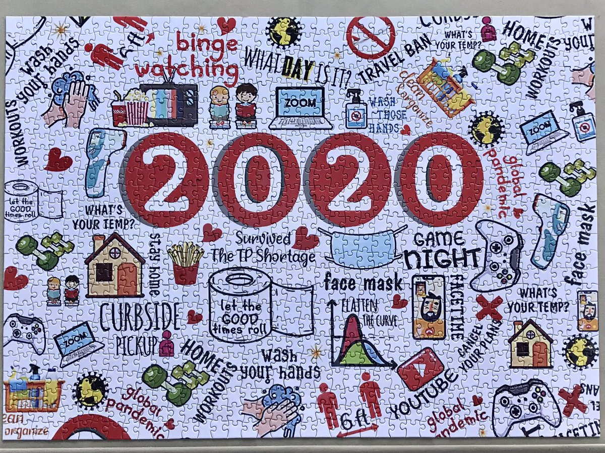 A #jigsaw 🧩 to perhaps do again and look back on in future years ...   #COVID19 🦠 #2020   Thanks to @Sthamsy 👍🏼 https://t.co/9EmDRha338