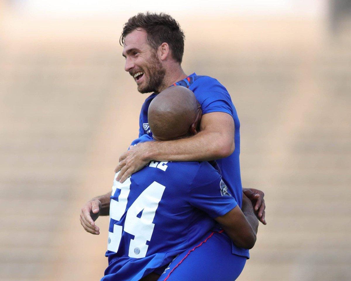 HE CAN'T STOP SCORING! - Bradley Grobler's last 8 games   vs Maritzburg United: ⚽⚽ vs Kaizer Chiefs: ⚽ vs Baroka: ⚽⚽ vs Chippa: ⚽ vs TS Galaxy: ⚽ vs Bloem Celtic: ⚽ vs Sundowns: ❌ vs AmaZulu: ⚽ https://t.co/0czZekp762