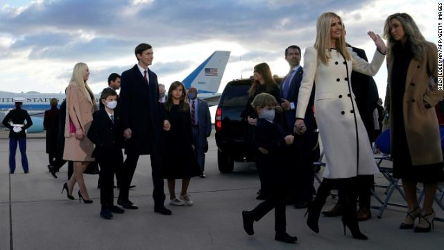 Before leaving office, former President Donald Trump signed extended US Secret Service protection by six months for all his children