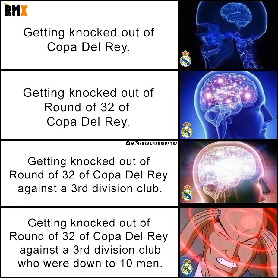 Replying to @TrollFootball: Just Real Madrid things in Copa Del Rey