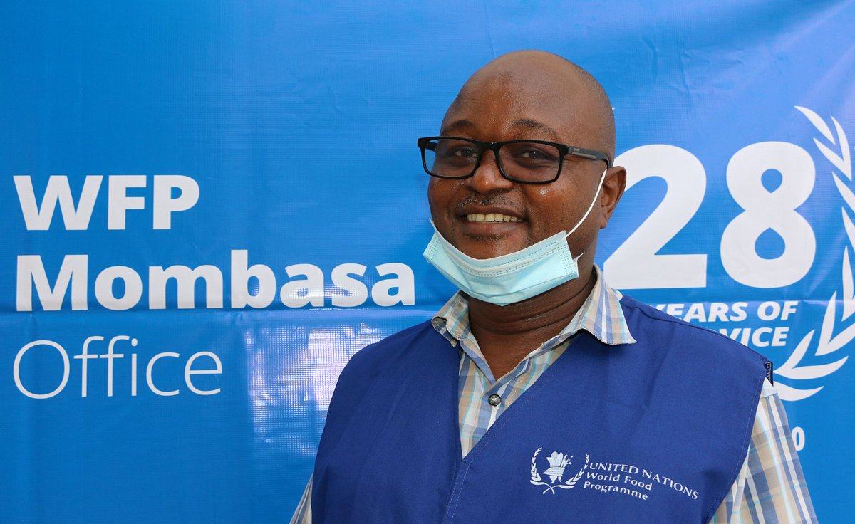 Meet Vincent, our Head of #Shipping🚢 in #Mombasa.   He joined @WFP on his 21st birthday, and 28 years later he's still working towards #zerohunger!  Read more about his journey here 👉