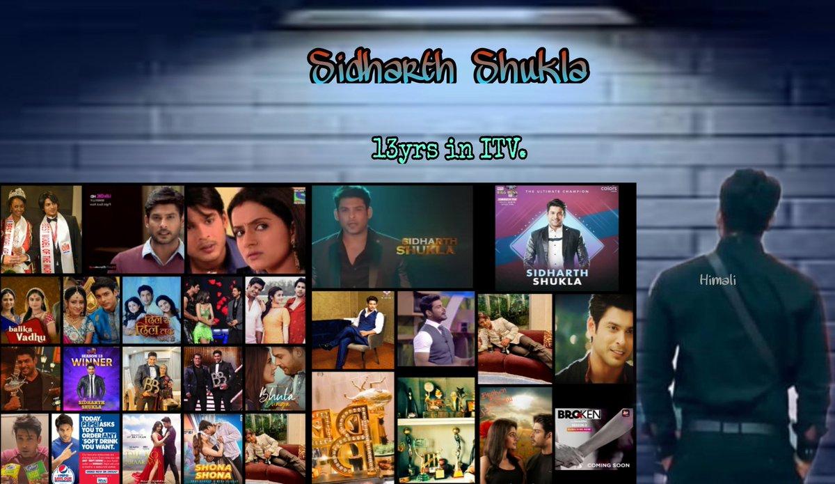 @TheDailyPioneer @Vikybadboy @sidharth_shukla Congratulations @sidharth_shukla   #13YearsOfSidharthInITV