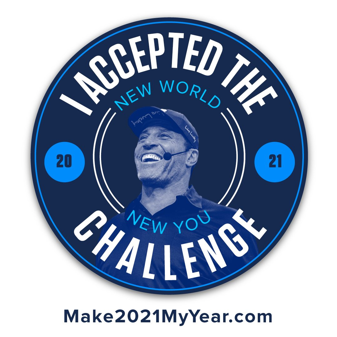 . @TonyRobbins is a peerless genius perfect to navigate us through this fearful time, an alchemist who turns pain into power - power to serve. I recommend you do this New World Challenge - even online he can elevate and inspire like no one else!