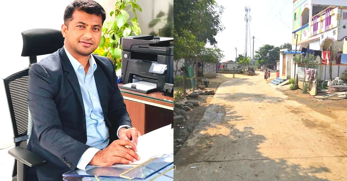 IRS Officer Toils for 10 Years To Give His Hamlet Its First-Ever Concrete Road