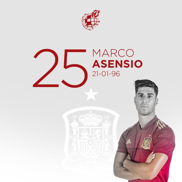 🎂 ¡Feliz cumpleaños a @marcoasensio10! El campeón de Europa Sub-19 y 2️⃣6️⃣ veces internacional con la @SeFutbol  cumple 25 años 🙃.   ¡Y que cumplas muchos más 🎉!