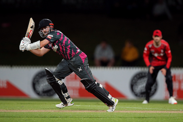 34 not out on Dream 11 Super Smash return for Kane Williamson helping the @ndcricket Knights home over @CanterburyCrick Kings at @seddonpark. The innings also took Kane over 5,000 runs in T20 cricket. Scorecard    #SuperSmashNZ