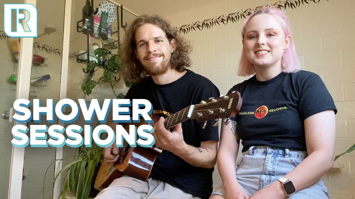ICYMI, here's Eat Your Heart Out with the latest of our Shower Sessions performances  They played 'Daydream' for us, at home, in the room with the best acoustics - the bathroom