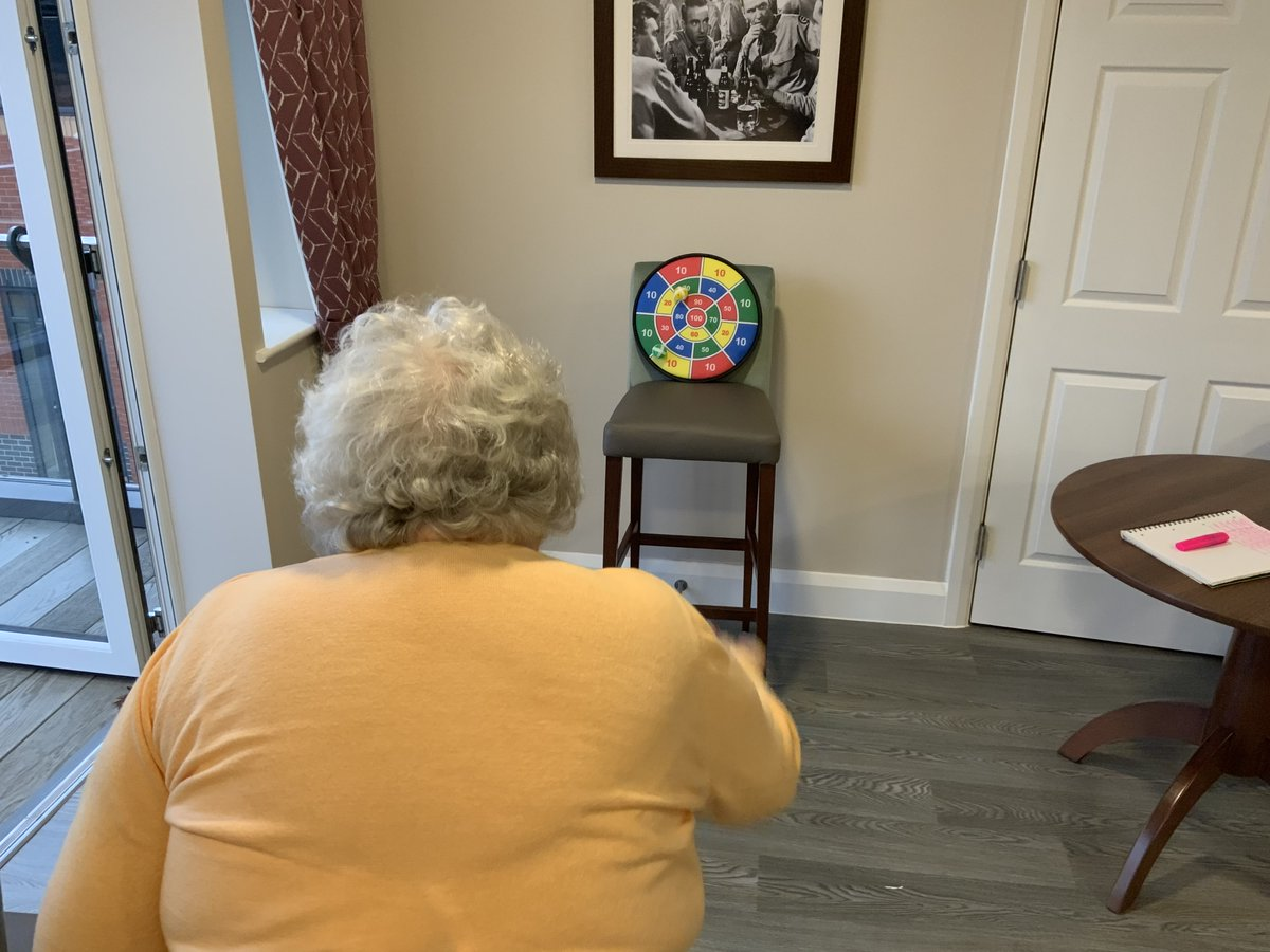 Let's Get Physical! 💪  Residents had a wonderful time this week taking part in a few physical games 🤩  Everyone really enjoyed the activities, with lots of support and encouragement for one another! 😍  #TwyfordLuxuryLiving #CareHomeActivities #Cheshire #Alsager #FridayFeeling