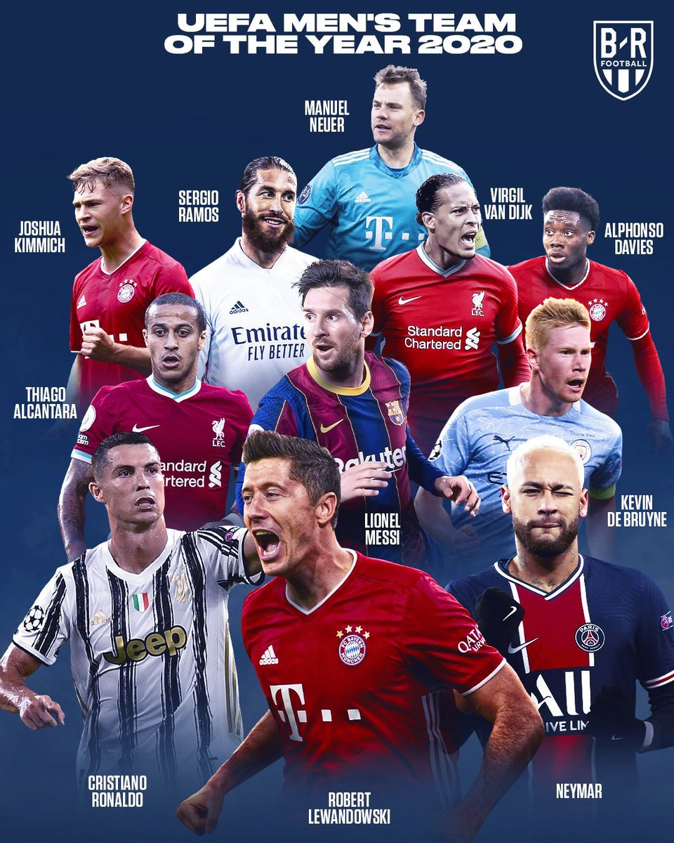 #Messi in the feart of the best players in the world, the most valuable piece #UEFA