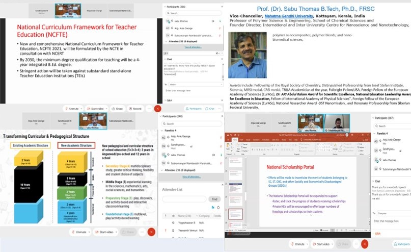 test Twitter Media - Webinar Series on National Education Policy 2020 - The Prospects of Innovation and Entrepreneurship held at NIT Calicut on 24 December 2020 by Prof. (Dr.) Sabu Thomas, Vice Chancellor, Mahatma Gandhi University, Kerala https://t.co/U0nx9NbIy7