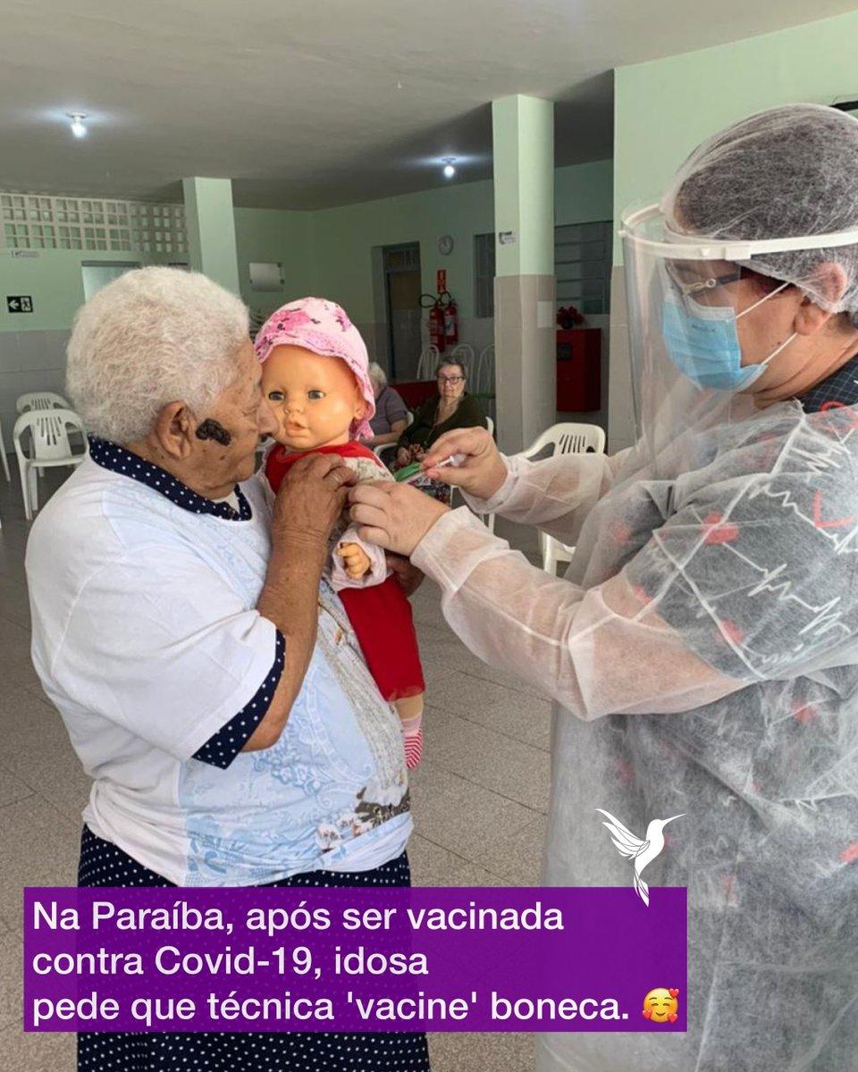 Tem que vacinar a boneca também!☺️😄