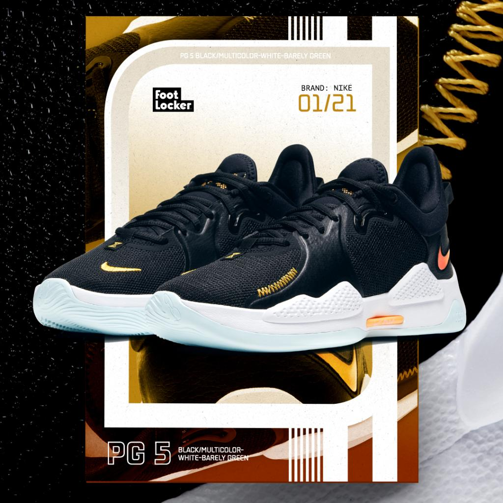 Perfect for the two-way player! The all-new #Nike PG5 is now available online and in select stores.  Shop: