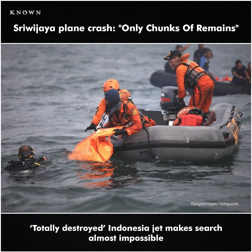 A flight crash happened on January 9th - Sriwijaya air crash, divers says Indonesia Plane Crash is worst.  #aricrash #crash #sriwijayaair #Sriwijaya #death #air #flight #life #matter #flightcrash #indonesia #java #javasea #news #known #knownengine #update