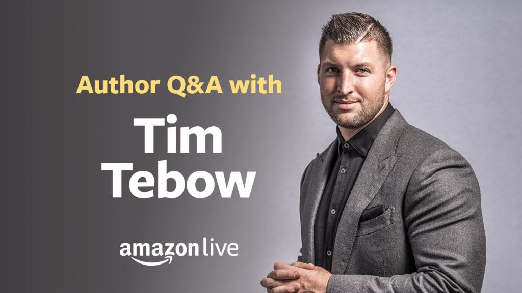 Join @TimTebow for a Live Q&A today at 9am PT/12pm ET on #AmazonLive.  He'll be discussing his new book, Bronco & Friends, and more. Tune in here: