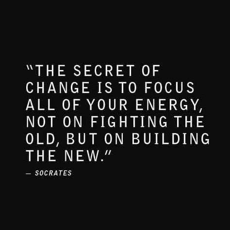 After the ceremonies of the past few days, let's all focus not on fighting the old but building the new. #thursdaythoughts #thursdaymotivation