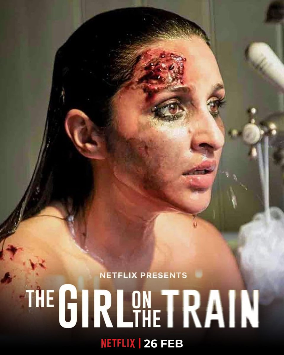 The excitement is sky high as the ride begins soon! #TGOTT premieres 26th Feb, only on Netflix. #TheGirlOnTheTrain  (Poster make by @DuttKriti )
