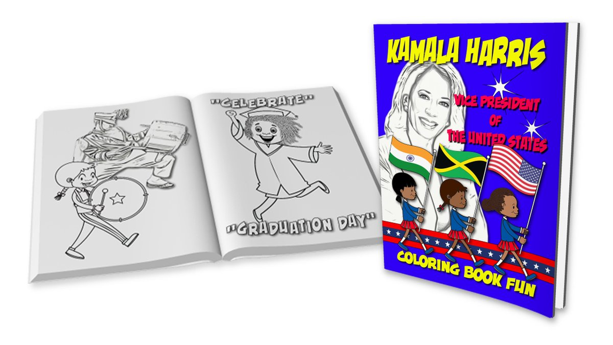 @AnneChoma #Salute @VP... 1st Ever... Woman Vice President of The United States !!!    #ColoringBookFun #ThursdayMorning