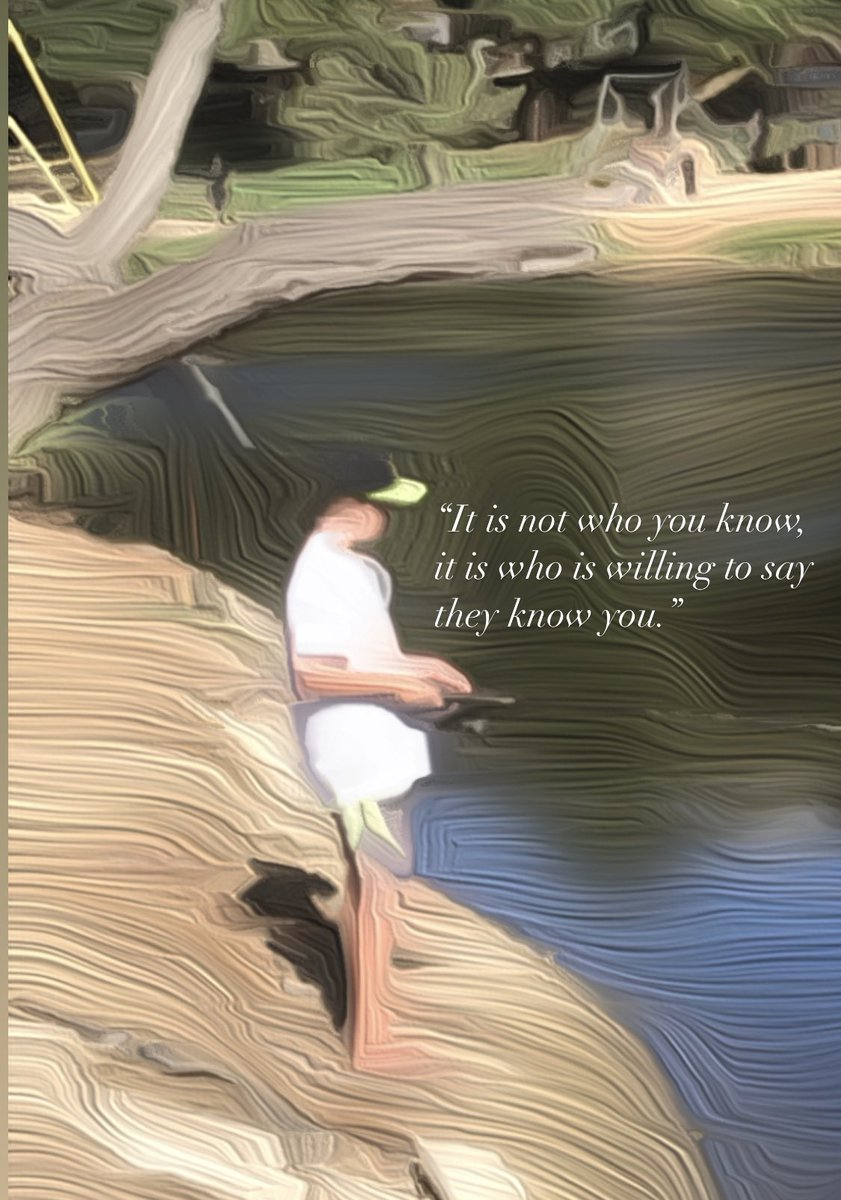 """""""It is not who you know, but it is who is willing to say they know you."""" #JustSaying #thursdaymorning"""