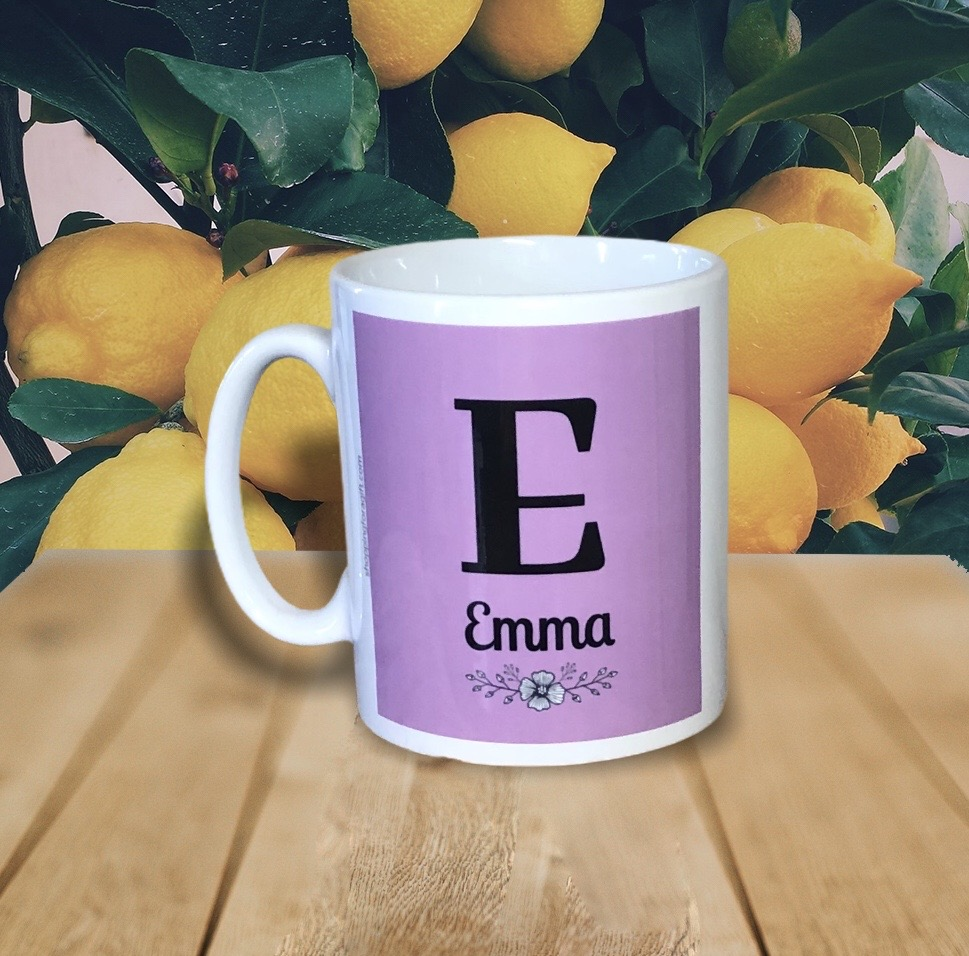 Personalised Girls Name and Initial Gift Mug. Mugs for Girls for Birthday and Christmas. Gifts for her. Visit >>    @amazon @AmazonUK #Amazon #AmazonUK #Christmas #ChristmasGifts