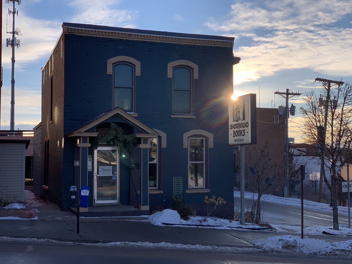 It seems like the sun is shining just a little bit brighter this morning. #indiebookstore #shoplocal #marquette