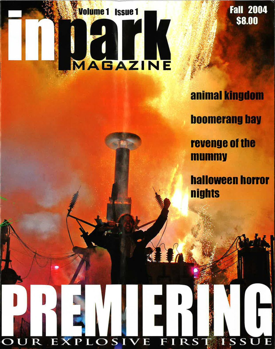 Happy #ThrowbackThursday! 🎢  Did you know #RevengeOfTheMummy was featured in the very first issue of @InParkMagazine?   Like the Revenge of The Mummy rides at @UniversalORL and @UniStudios, InPark Magazine launched in 2004!  #Universal #Mummy #Coaster #tbt #industryoffun